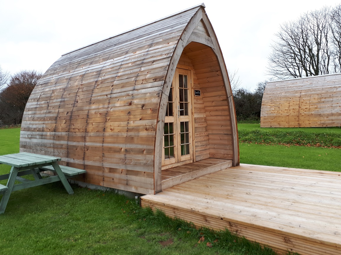 Higher Culloden Farm Glamping Pod